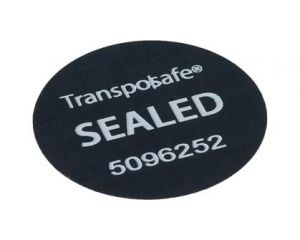 High Security label 40mm