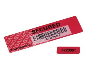 Transposafe security label void