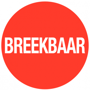 Sticker breekbaar Ø40mm herpositioneerbaar (per rol van 500 stuks)