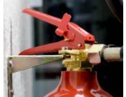 Verzegelen van brandblussers & brandhaspels